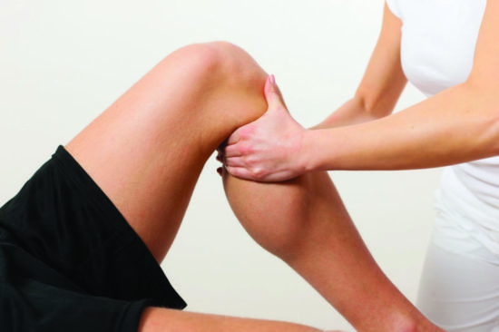 Massage sportif des jambes - Massage suédois
